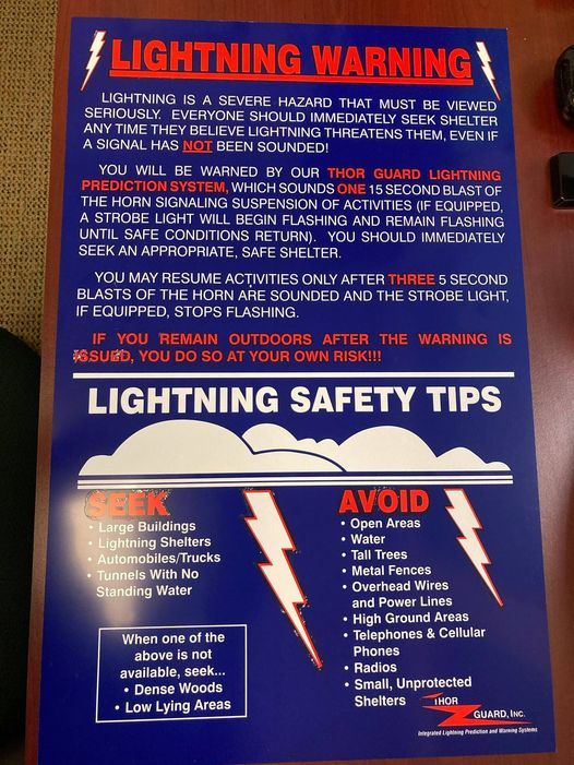 Thor Guard Lightning Safety